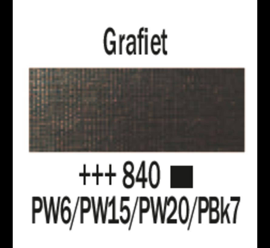 Amsterdam acrylverf 120ml standard 840 Grafiet