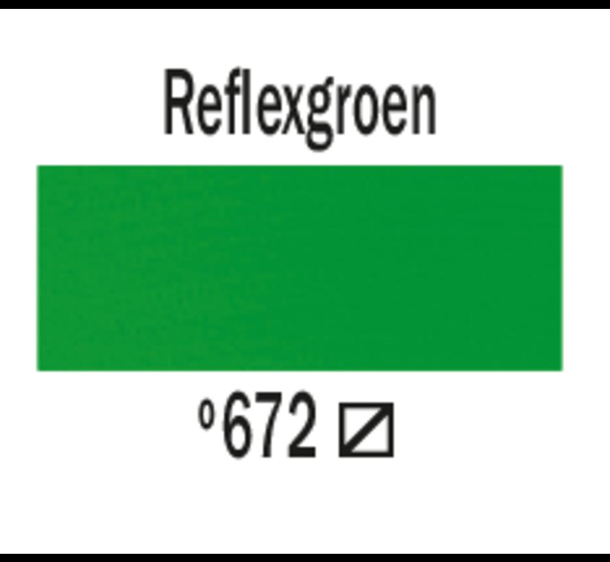 Amsterdam acrylverf 120ml standard 672 reflexgroen