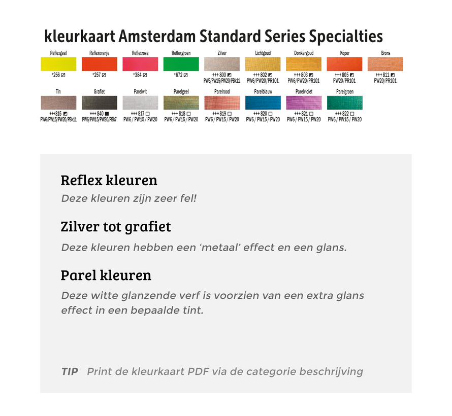 Amsterdam acrylverf 120ml standard 811 brons