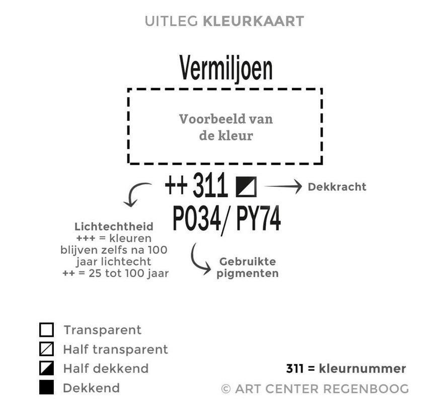 Amsterdam acrylverf 120ml standard 224 Napelsgeel rood