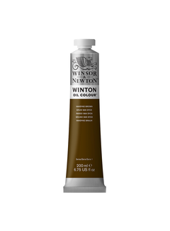 Winsor & Newton W&N Winton olieverf 200ml Vandyke Brown 676