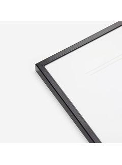 Schoot Aluminium wissellijst satijn zwart
