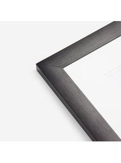 Schoot Aluminium MAX wissellijst satijn zwart