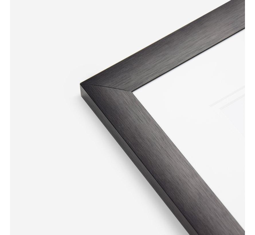 Aluminium MAX wissellijst satijn zwart