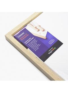Regenboog huismerk Blok baklijst blank + linnen doek combideal