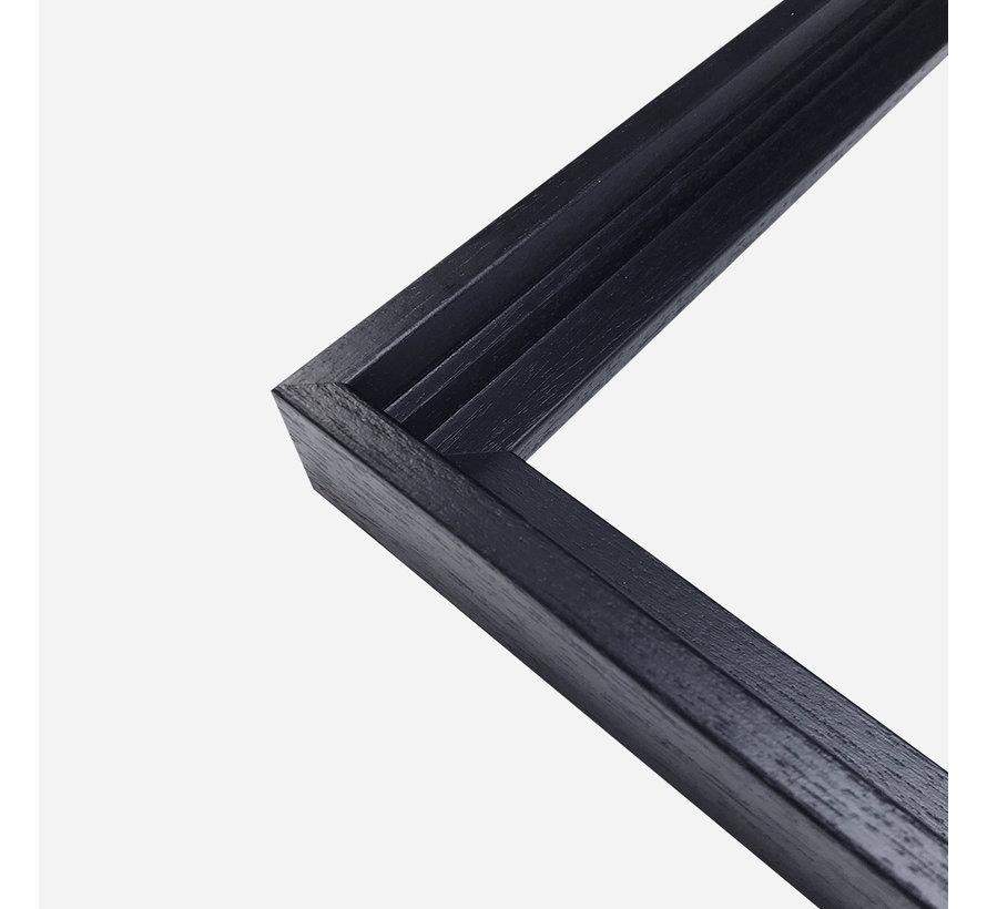 Baklijsten partij M - 50 x 50 zwart
