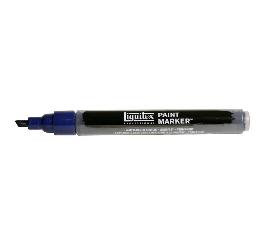 Liquitex acrylverf marker 2-4mm Prussian Blue Hue