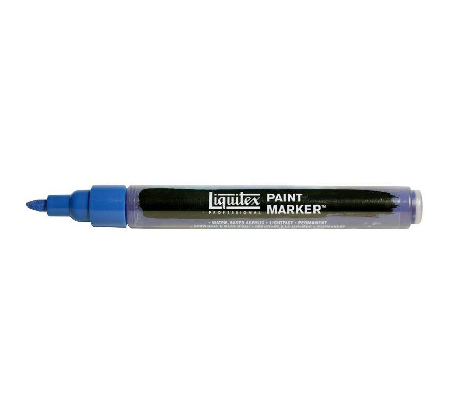 Liquitex acrylverf marker 2-4mm Phthaloa Blue Green Shade