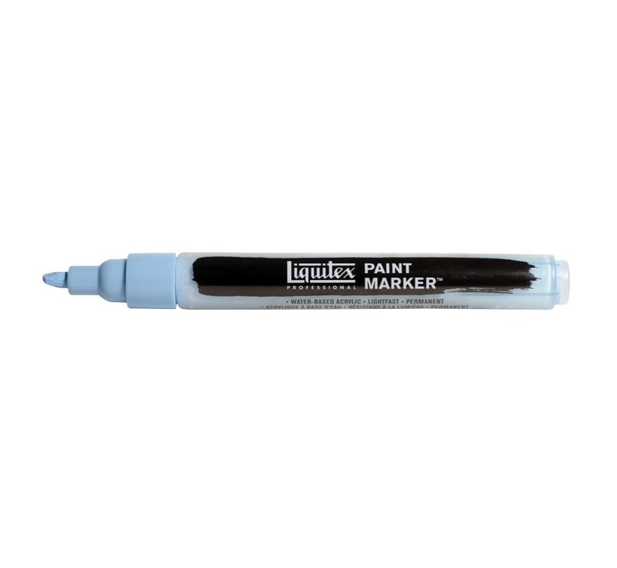 Liquitex acrylverf marker 2-4mm Light Blue Violet