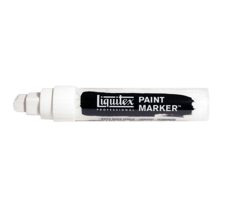 Liquitex acrylverf marker 8-15mm Titanium White