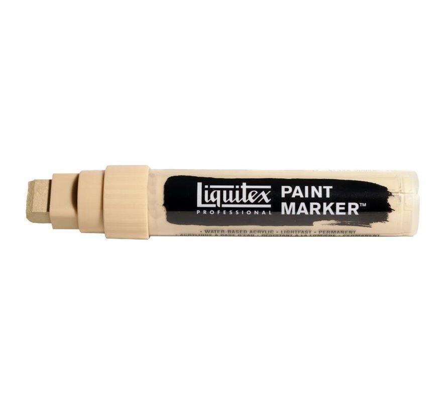 Liquitex acrylverf marker 8-15mm Unbleached Titanium