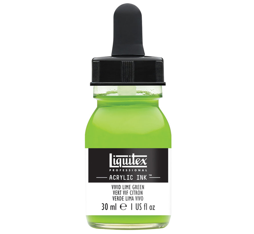 Ink! acrylinkt 30ml Vivid Lime Green