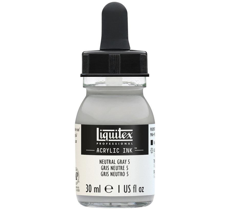 Ink! acrylinkt 30ml Neutral Grey 5