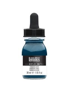 Liquitex Ink! acrylinkt 30ml Turquoise Deep