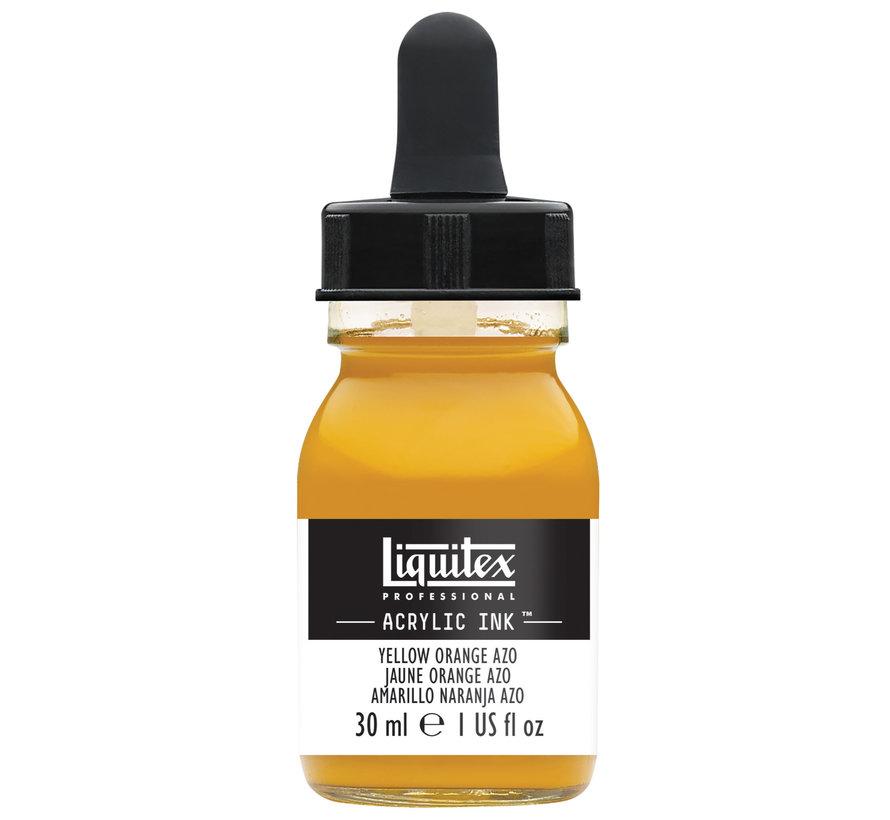 Ink! acrylinkt 30ml Yellow Orange Azo