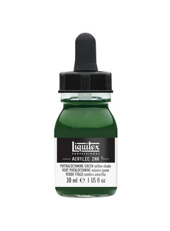Liquitex Ink! acrylinkt 30ml Phthalo Green (Yellow shade)