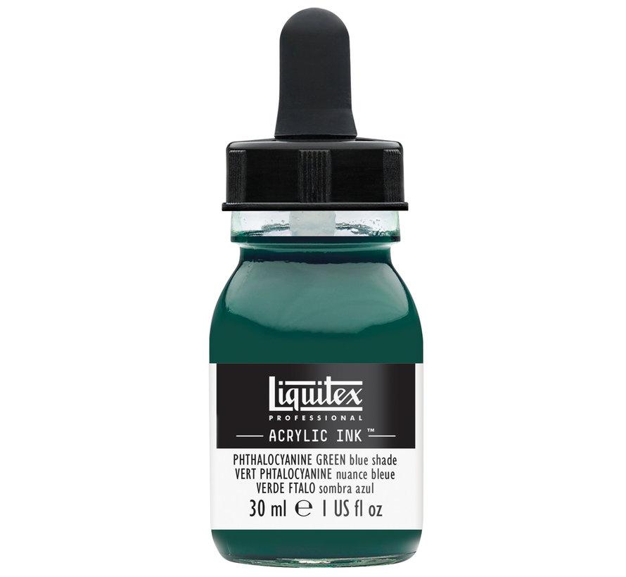 Liquitex Ink! acrylinkt 30ml Phthalo Green (Blue shade)