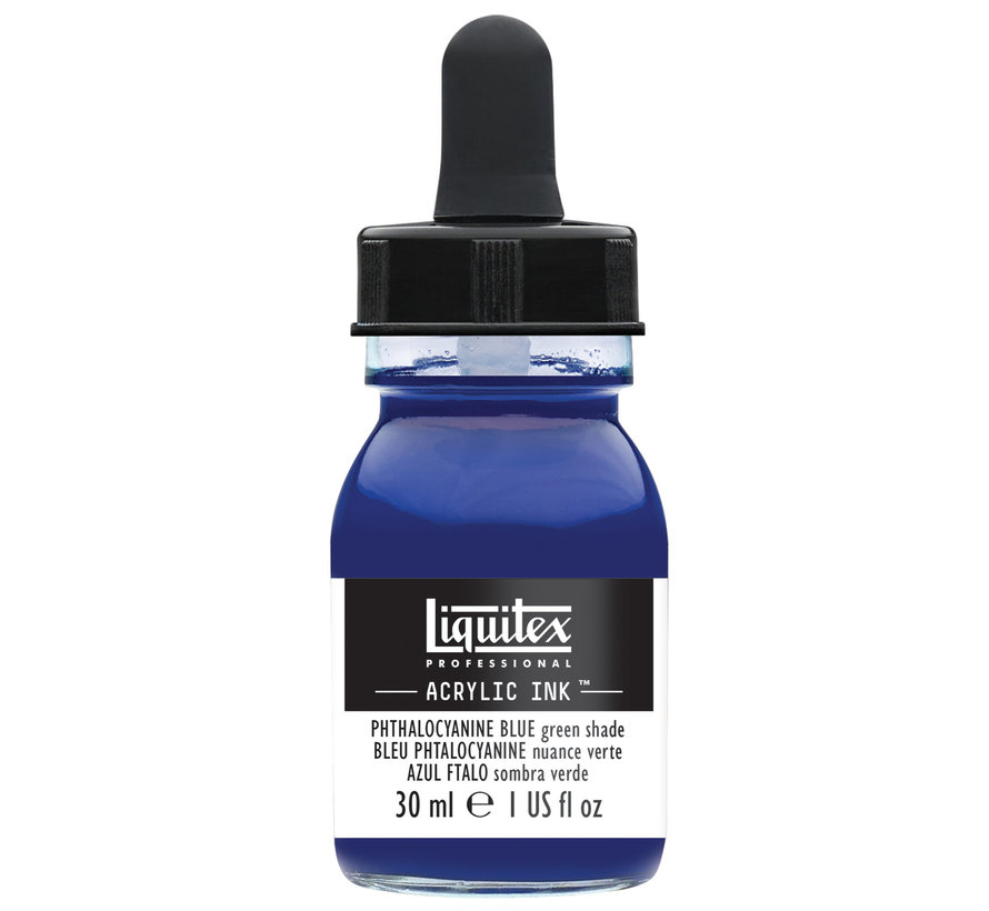Ink! acrylinkt 30ml Phthalo Blue (Green shade)