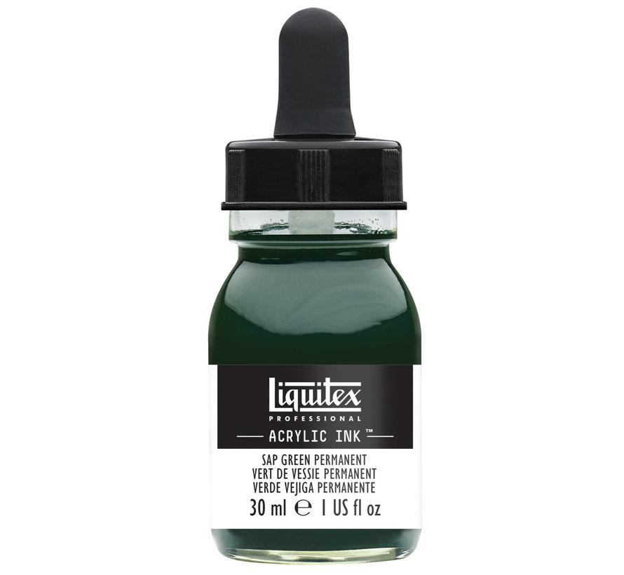 Ink! acrylinkt 30ml Sap Green Permanent