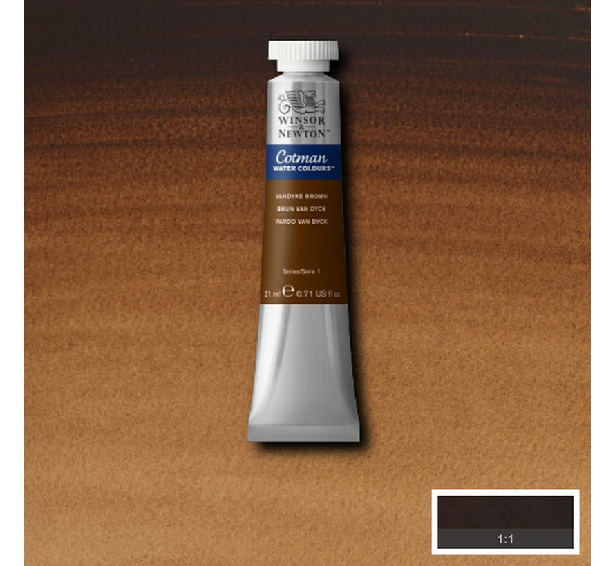 Cotman aquarelverf 21ml Vandyke Brown