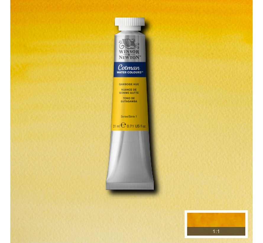 Cotman aquarelverf 21ml Gamboge Hue