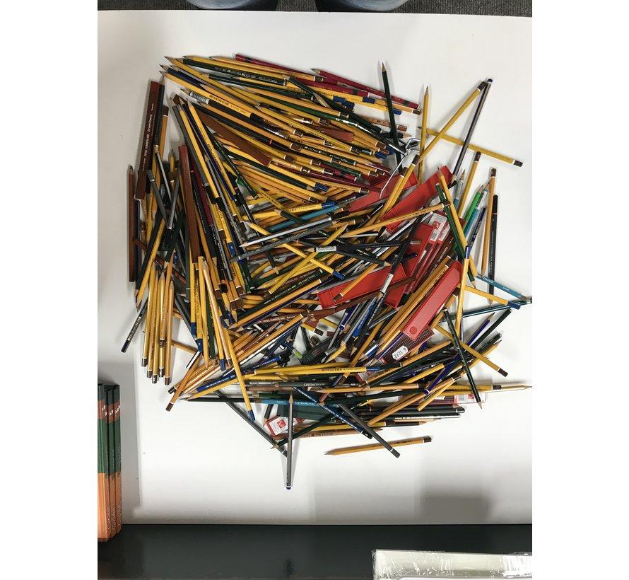 Opruiming partij schets/tekenpotloden