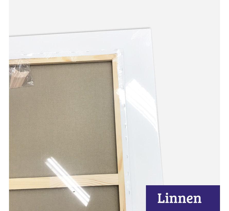Schildersdoek aanbieding Linnen glad 130x160 x 2
