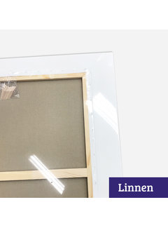 Regenboog huismerk Schildersdoek aanbieding Linnen 120x150 x 2