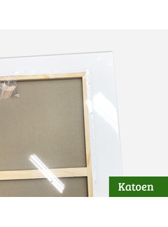 Regenboog huismerk Schildersdoek aanbieding Katoen 3D 120x200 x 2