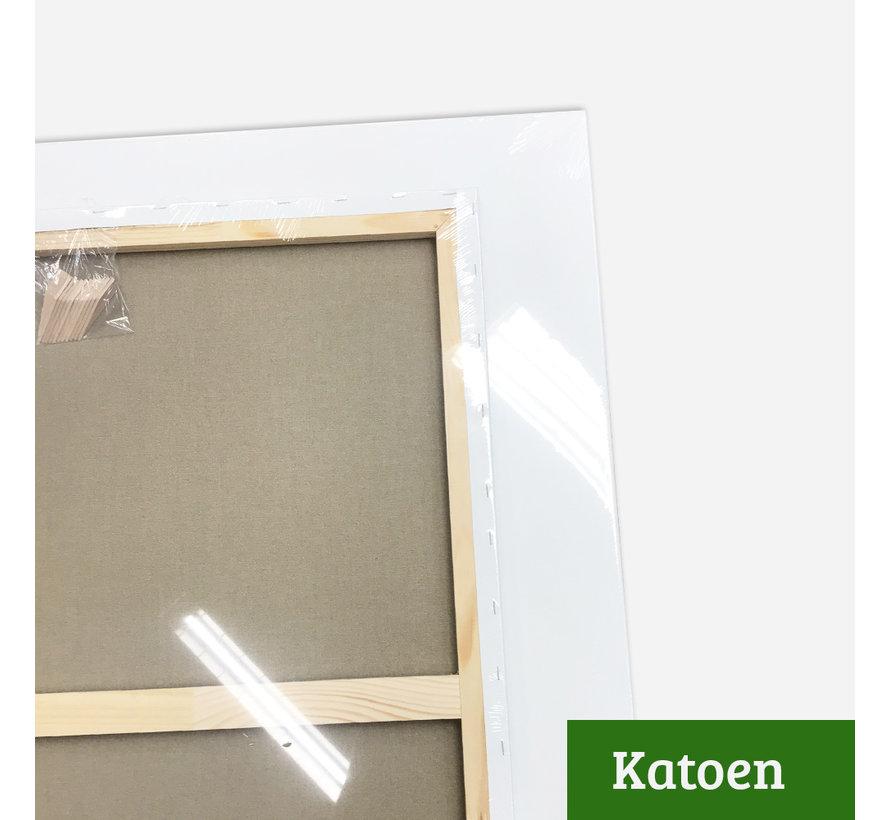 Schildersdoek aanbieding Katoen 3D 120x200 x 2