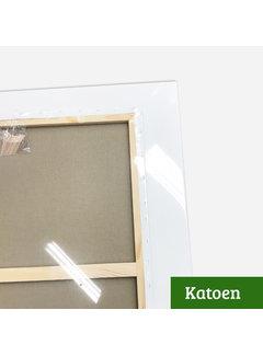 Regenboog huismerk Schildersdoek aanbieding Katoen 3D 190x190 x 3