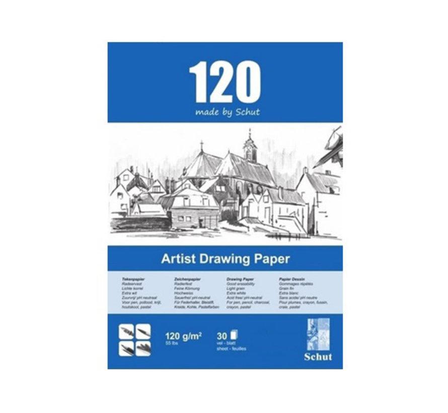 Schut Artist Drawing Paper 120gr A4