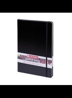 Art Creation Schetsboek zwart 21 x 29.7
