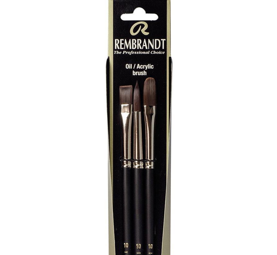 Olie/Acryl penselen set Serie 290/291/292-10 FSC