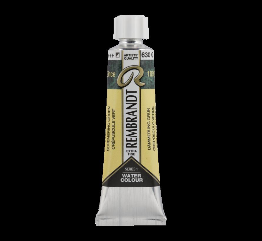 Aquarelverf 10 ml Schemering Groen 630