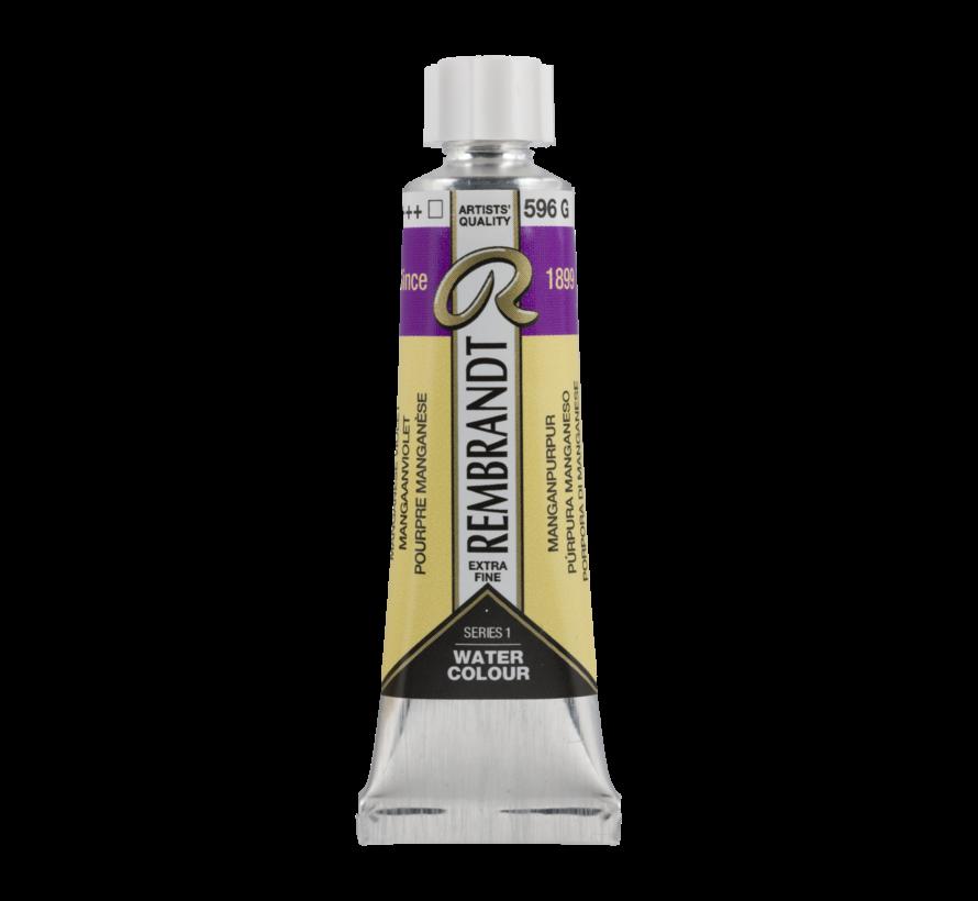 Aquarelverf 10 ml Mangaanviolet 596