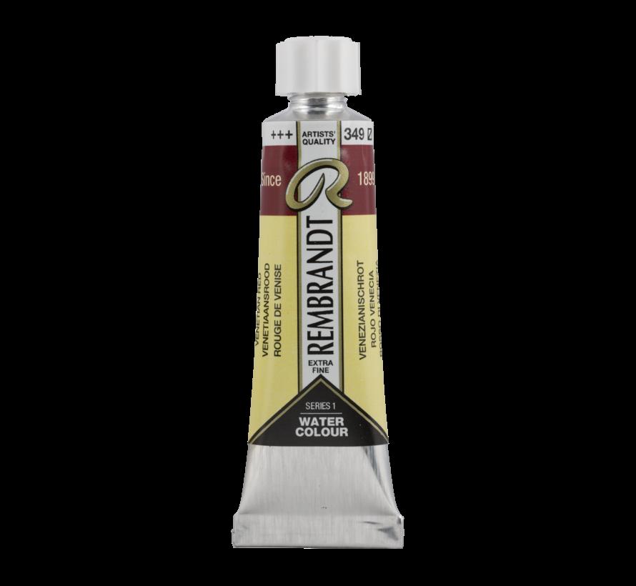 Aquarelverf 10 ml Venetiaansrood 349
