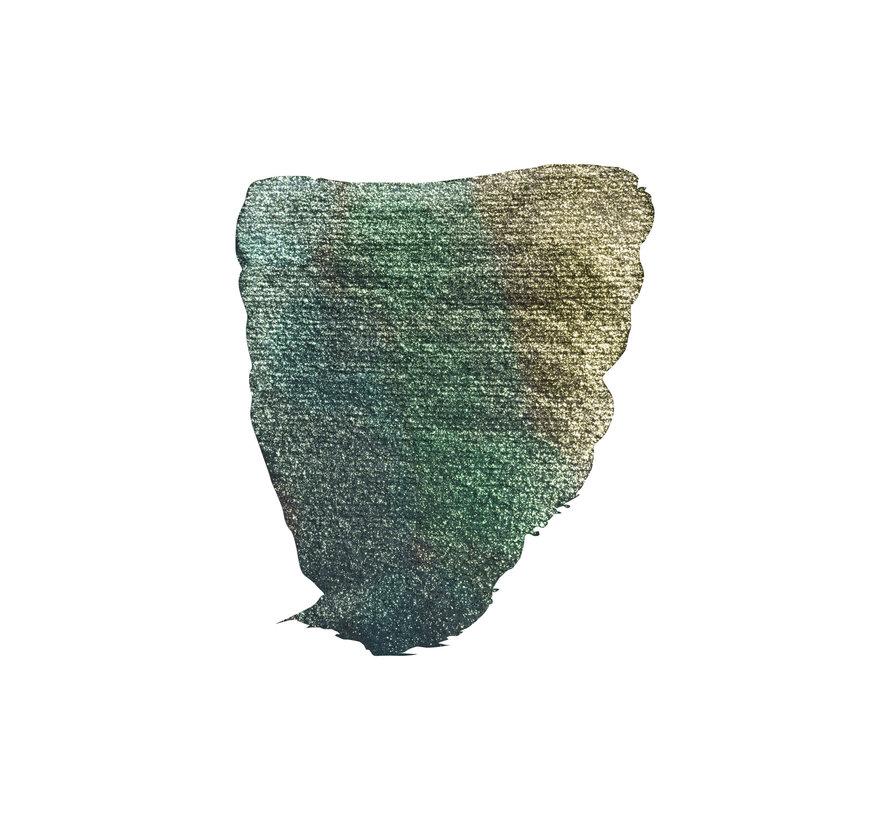 Aquarelverf Napje Kameleon Blauw Groen Goud 863