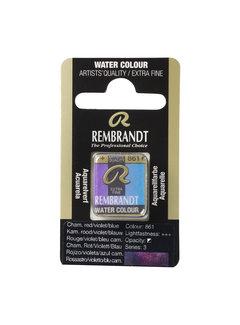 Rembrandt Aquarelverf Napje KameleonRood Violet Blauw 861