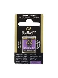 Rembrandt Aquarelverf Napje Interference Violet 847
