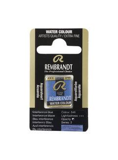 Rembrandt Aquarelverf Napje Interference Blauw 846