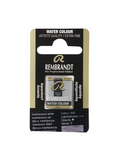 Rembrandt Aquarelverf Napje Interference Wit 843