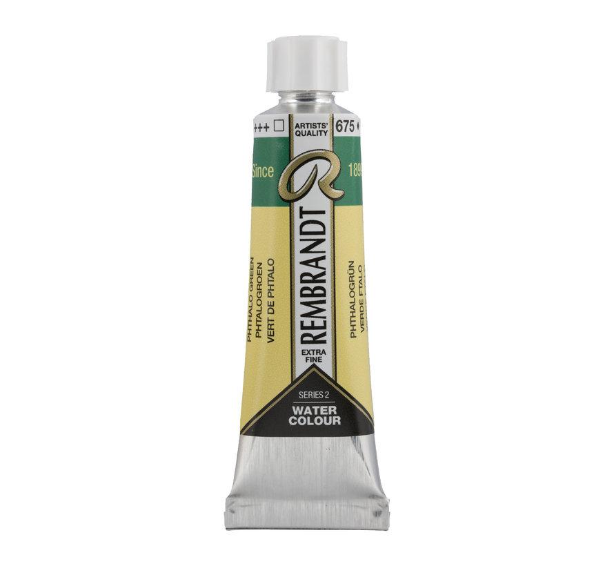Aquarelverf 10 ml Phtalogroen 675