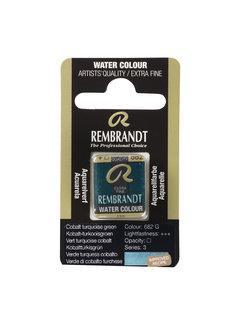 Rembrandt Aquarelverf Napje Kobalt-Turkooisgroen 682