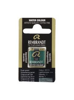 Rembrandt Aquarelverf Napje Schemering Groen 630