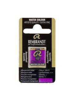 Rembrandt Aquarelverf Napje Mangaanviolet 596