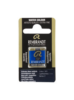 Rembrandt Aquarelverf Napje Phtaloblauw Rood 583