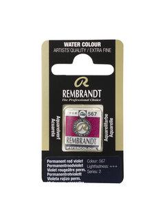 Rembrandt Aquarelverf Napje Permanentroodviolet 567