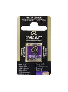 Rembrandt Aquarelverf Napje Blauwviolet 548