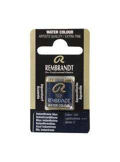 Rembrandt Aquarelverf Napje Indantreenblauw 585